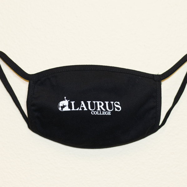 Laurus College Face Mask by Itself